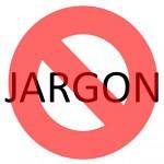 Geen jargon-